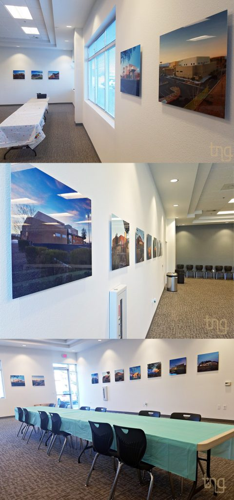 conference room artwork display las vegas photographer